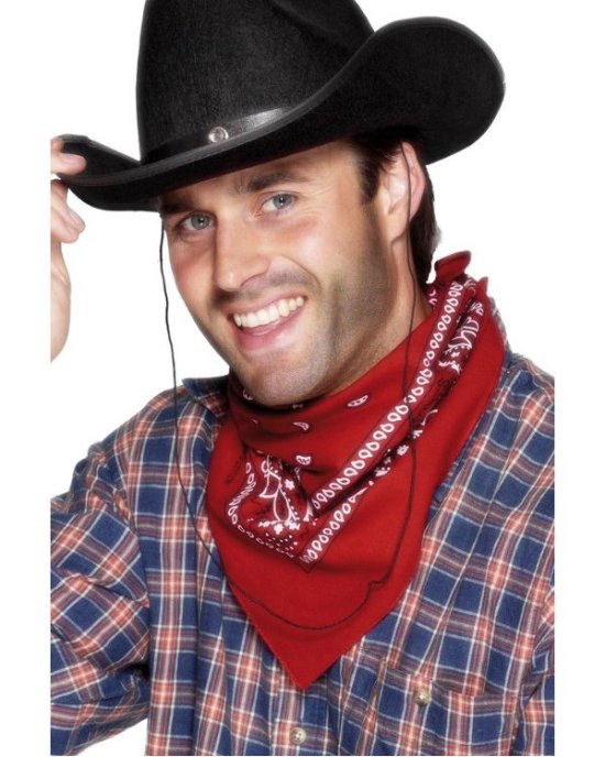 R?dt cowboyskjerf Tilbeh?r