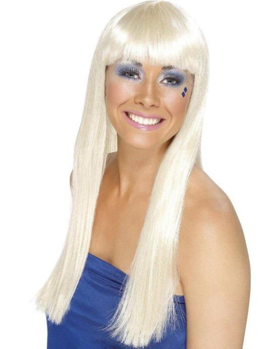 Blond ABBA-parykk tilbeh?r