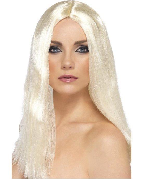 Blond idolparykk tilbeh?r