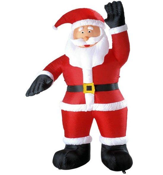 Stor oppblaasbar julenisse Tilbeh?r