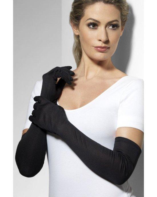 Lange hansker, svarte Tilbeh?r