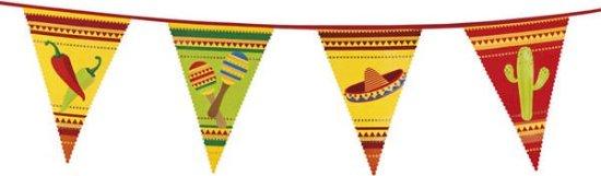 Meksikansk vimpelbanner dekorasjon