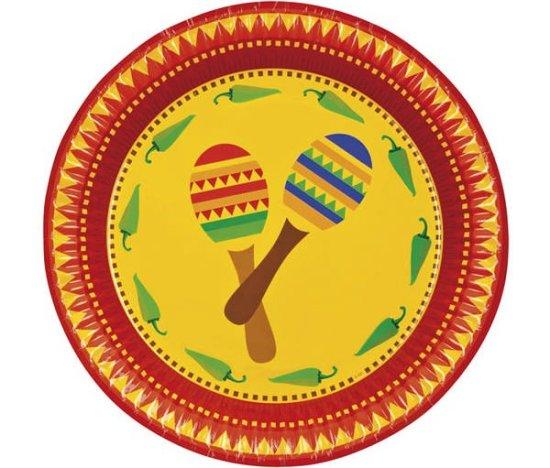 Meksikanske tallerkener Festartikler