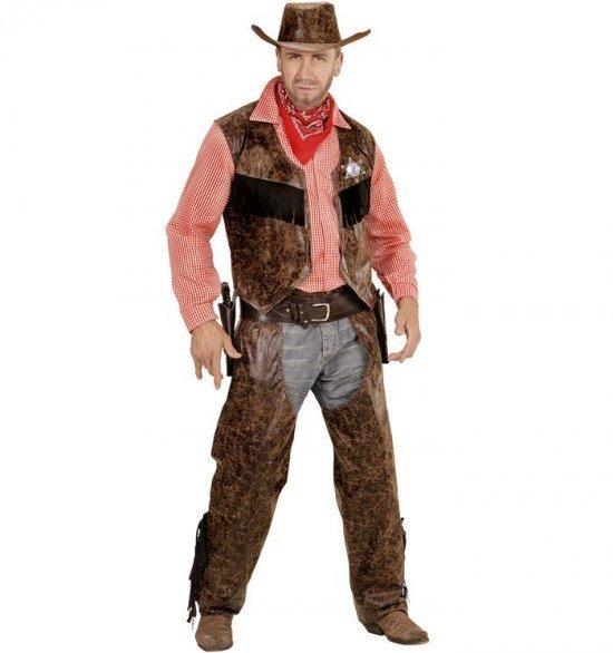 Cowboymann, laer kostyme