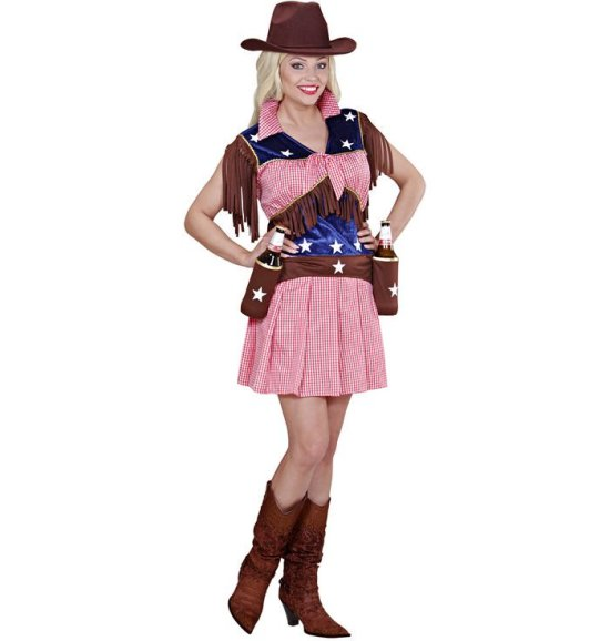 Rodeo Cowgirl kostyme