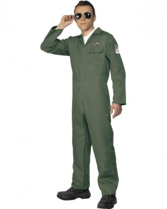 Klassisk pilot kostyme