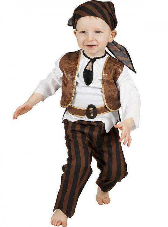 Pirat baby kostyme
