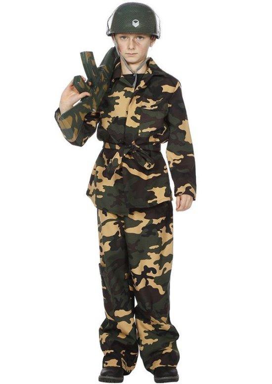 Liten soldat Kostymer