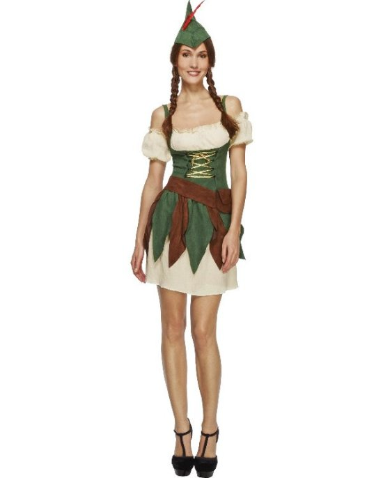 Kvinnelig Robin Hood kostyme