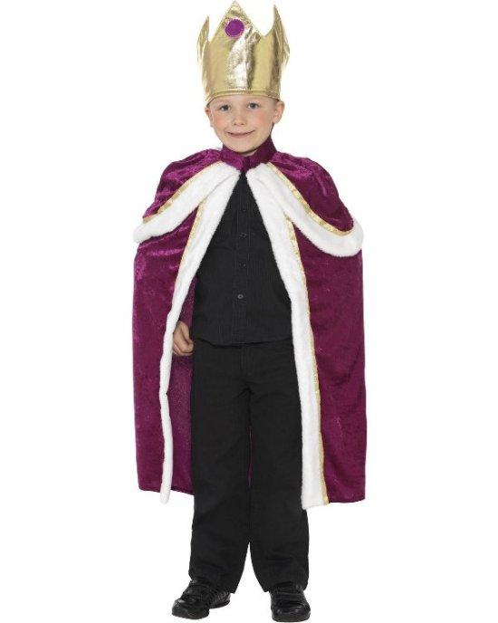 Liten konge kostyme