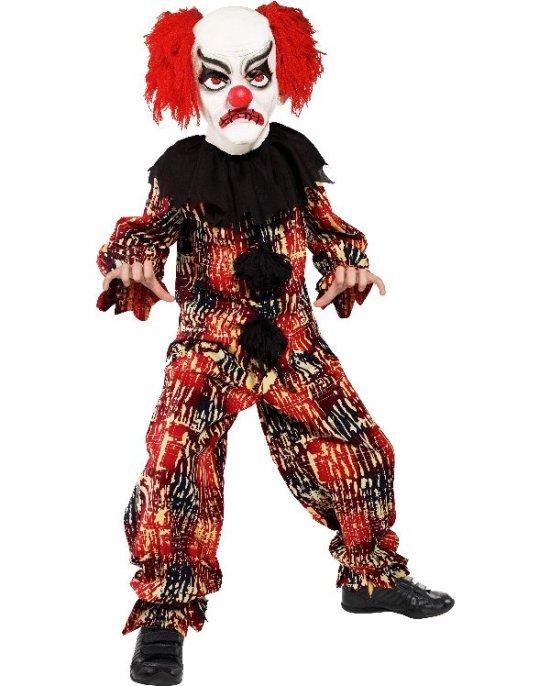 Liten, skummel klovn kostyme