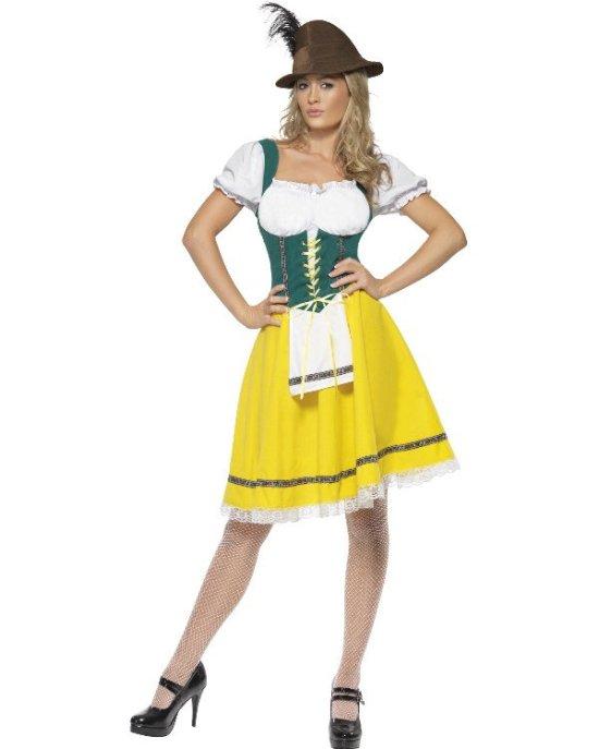Oktoberkjole kostyme