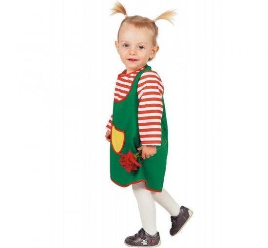 Lille baby Pippi Kostymer