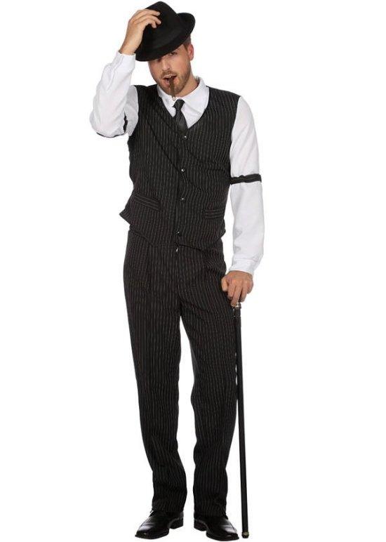 Klassisk Gangster Kostymer