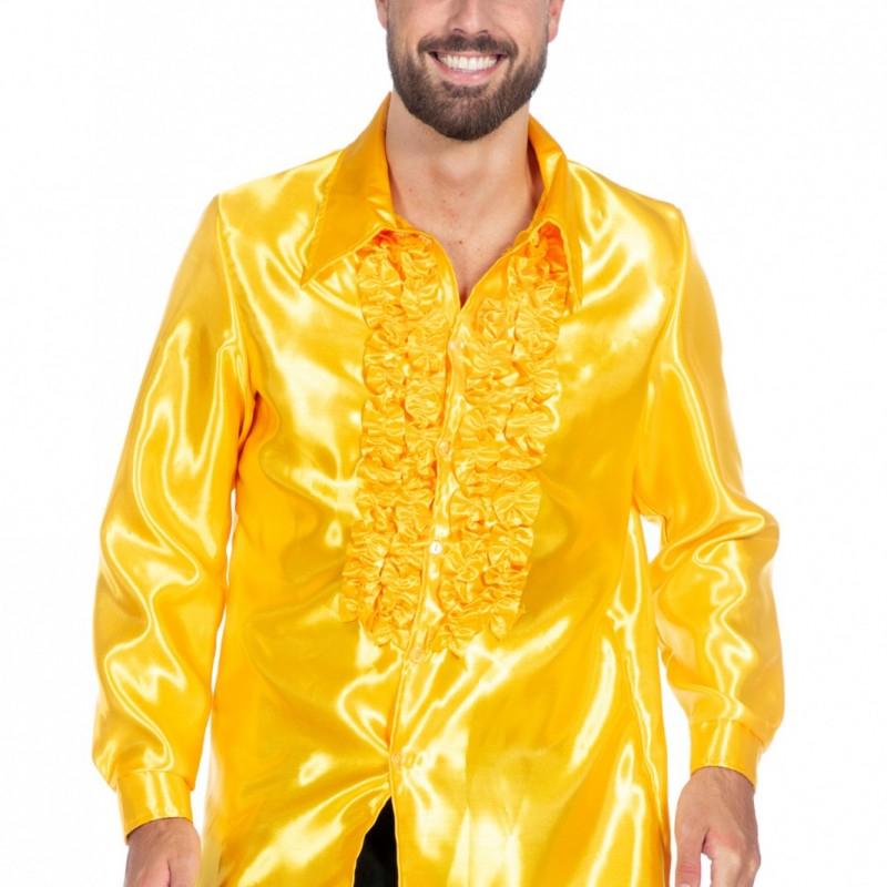 Kjøp Satin Skjorte Sort for kun 309 kr. Lynrask levering