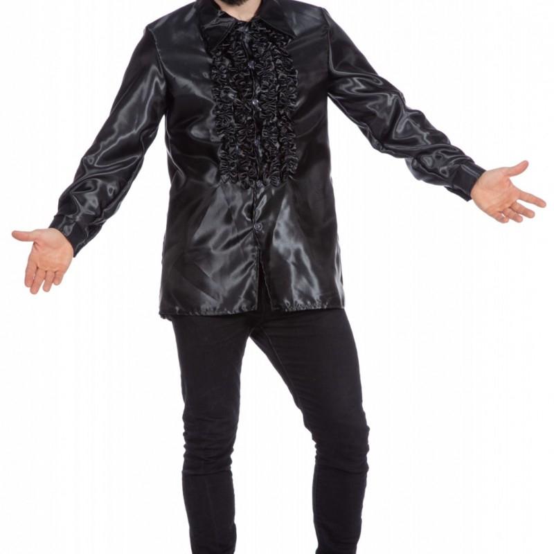 sort sateng skjorte