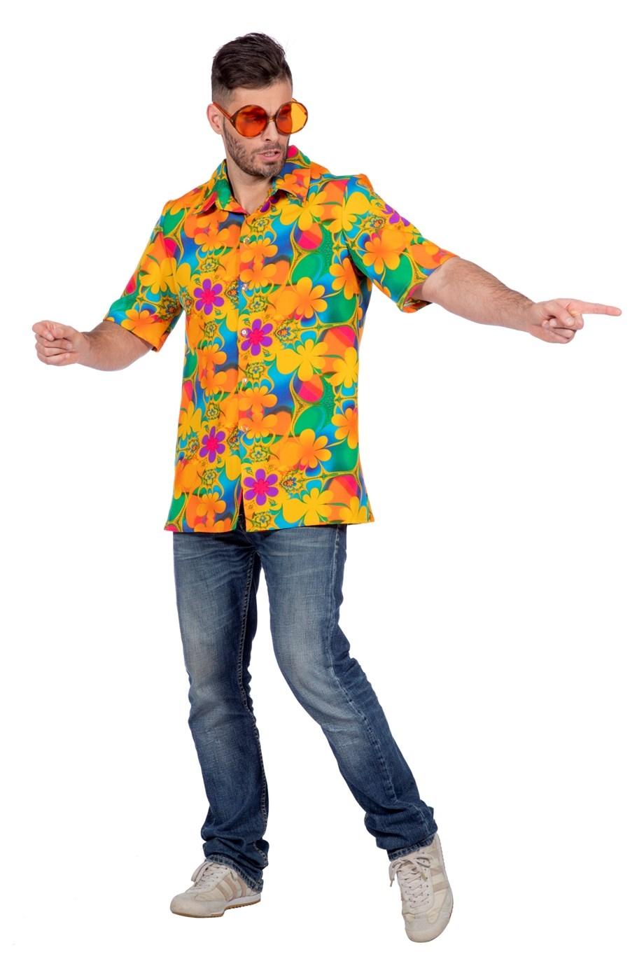 Kjøp Hawaiiskjorte, Orange for kun 219 kr. Lynrask